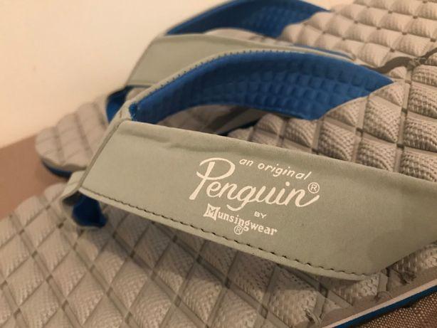 Nowe, męskie klapki, japonki Original Penguin r. 43 Casual Streetwear