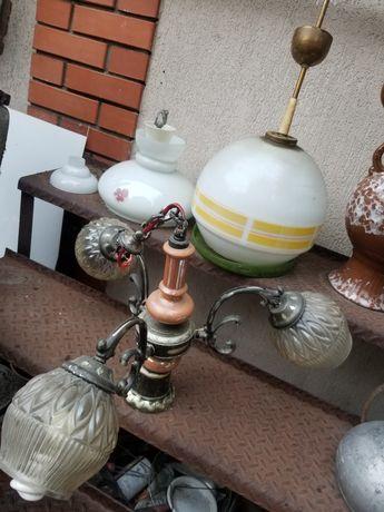 Набор б/у светильников ламп люстр светильников в квартиру 3шт