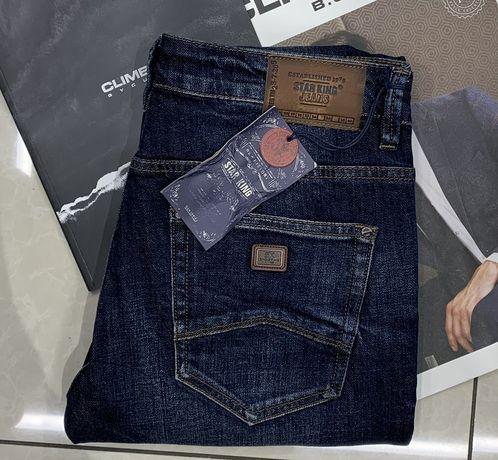 Чоловічі якісні джинси Star King
