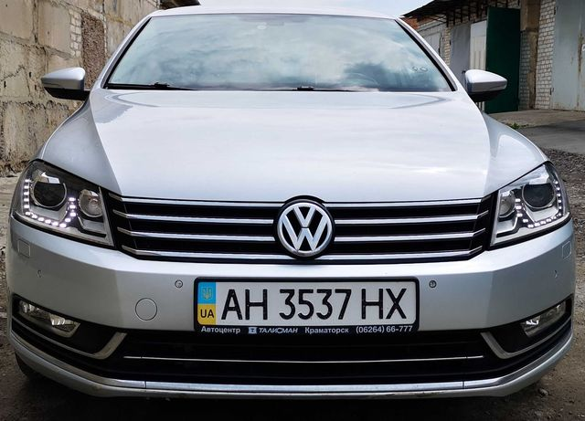 VW Passat B7 2012г