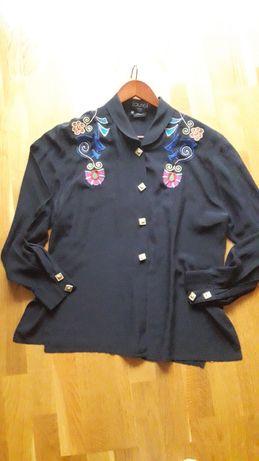 Блуза шелк винтаж Laurel оригинал