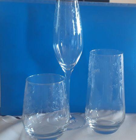 Komplet ekskluzywnych 6 kieliszków do szampana 210 ml COMBI G076