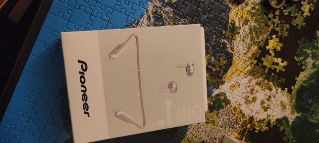 Słuchawki bezprzewodowe Pioneer SE-C7BT-W nowe białe