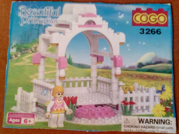 """конструктор GOGO 3266 """"Прекрасная принцесса"""""""