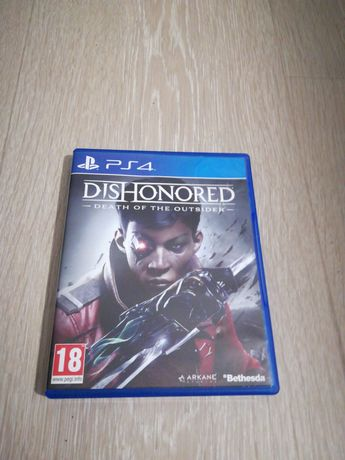 Dishonored death of the outsider gra/gry Ps4