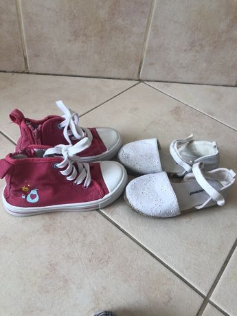 Buty trampki buciki dla dziewczynki rozmiar 24