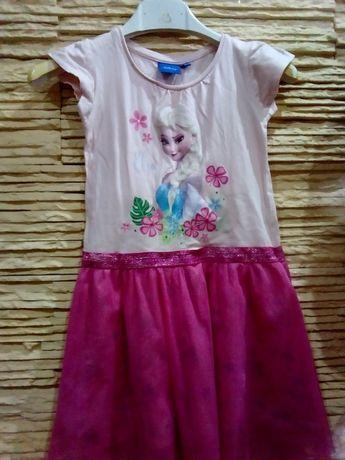 Sukienka na lato z Elsą Disney r.98/104