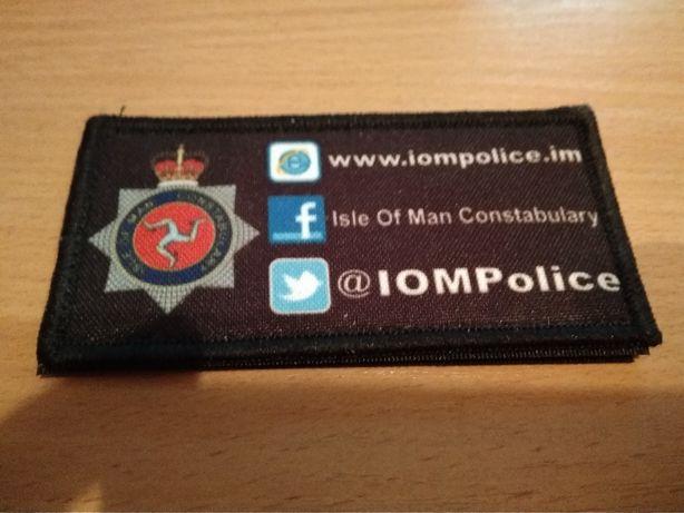 Нашивка полиции острова Мэн (Англия)