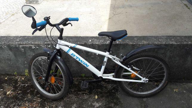 Bicicleta Criança 6 - 9 anos c/ Pára-lamas e Espelho
