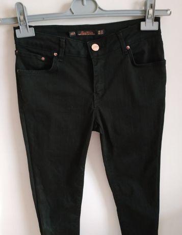 Calças pretas skinny Zara