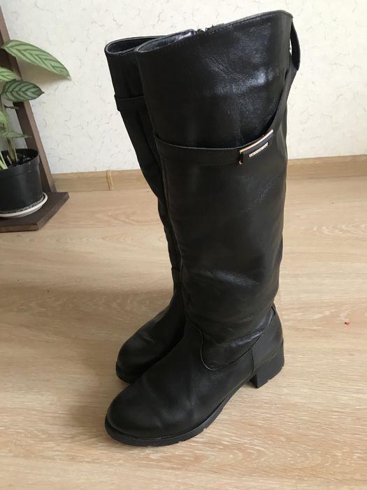 Зимові чоботи шкіра в ідеальному стані!!! Луцк - изображение 1