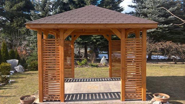 Altana ogrodowa nowoczesna wiata ogrodowa 3x3 montaz gratis
