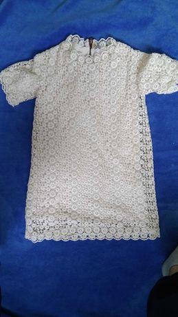 Платье Zara нарядное на девочку 6-8 лет