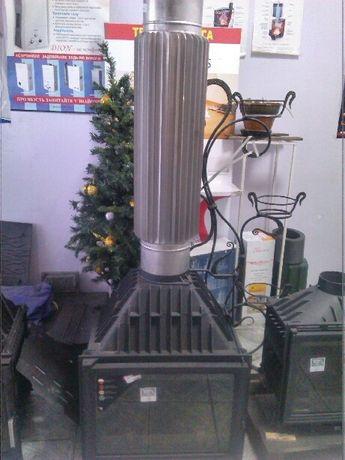 Дымоходы из нержавеющей и оцинкованной стали ,сертифицированы! Монтаж