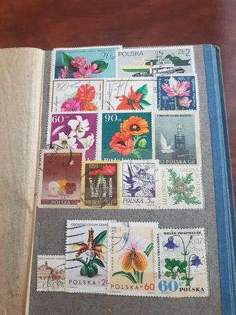 Klaster że znaczkami pocztowymi