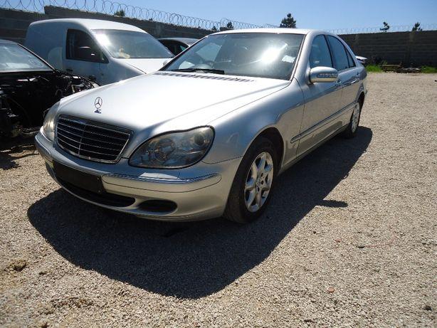 Mercedes S 320 cdi de 2003 só ás peças