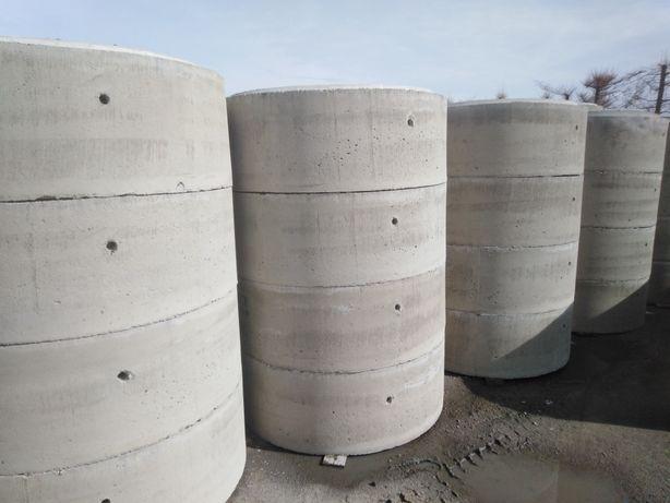 Kręgi betonowe nowe 60,80,100,120,150,200