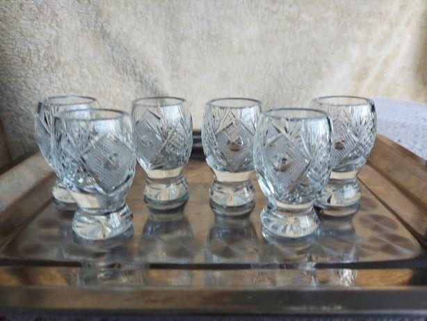Kieliszki kryształowe do wódki 6 sztuk