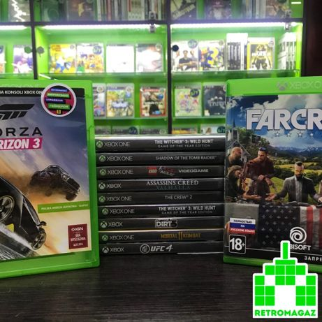 Xbox One Игры Forza Horizon 3 FIFA 21 UFC 4 Witcher 3 Wild Hunt GOTY