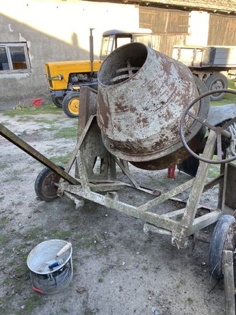 Betoniarka bez silnika