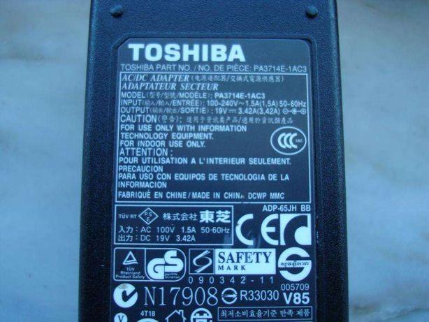 Carregador original Toshiba PA3714E-1Ac3