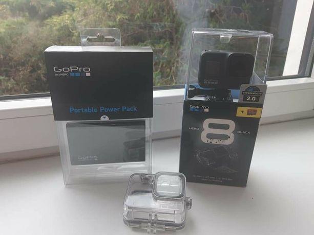 Gopro 8 Black + Powerbank Gopro