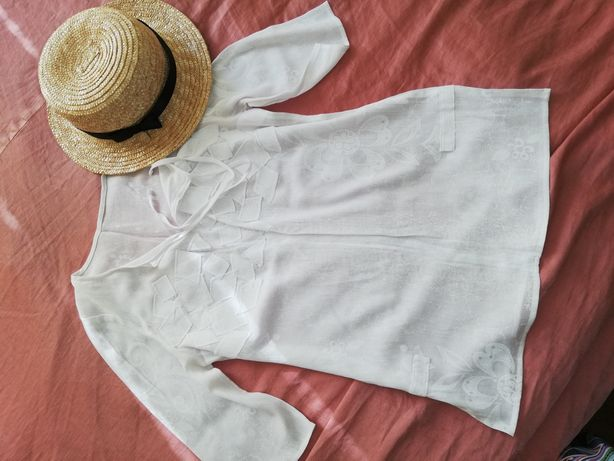 Муслиновая пляжная туника