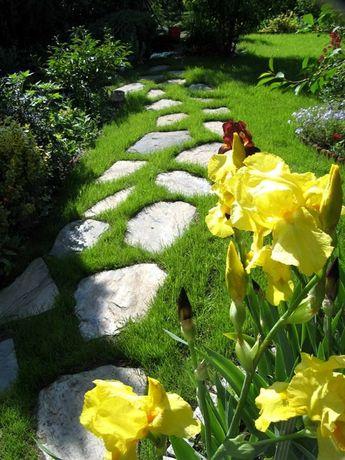 Łupek szarogłazowy do ogrodu, kamień na ścieżki, schody, kaskady