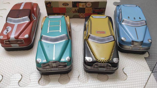 Pudełka auta fossil samochody