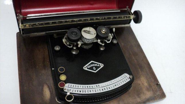 Maquina de escrever de 1925 - antiga