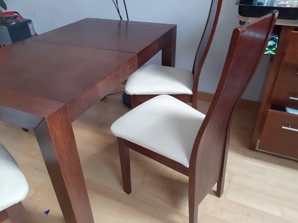 Stol i  krzesla