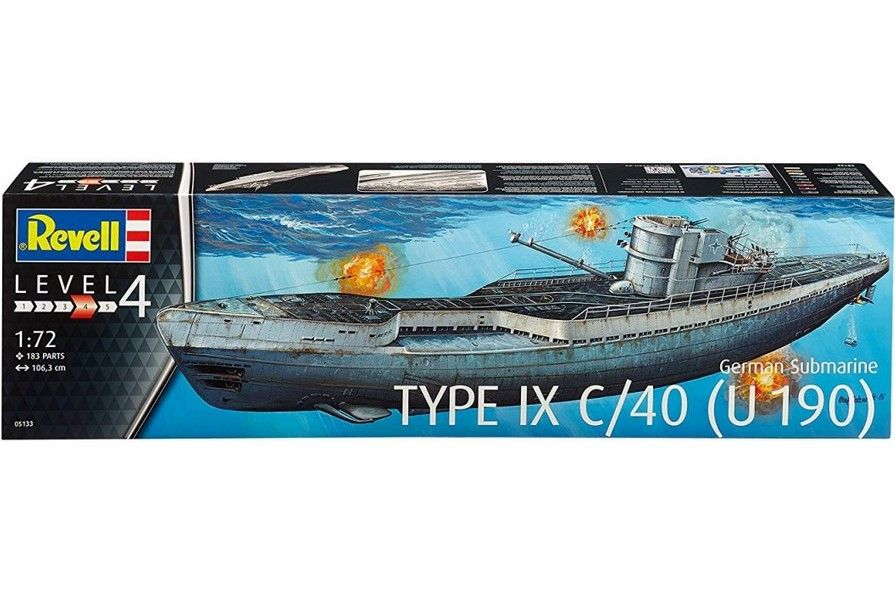 Revell 05133 Type IX C/40 (U 190) Bydgoszcz - image 1
