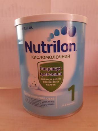 Суміш молочна суха Nutrilon кисломолочний 1