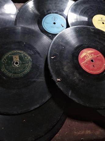 Пластинки 1950-60х годов