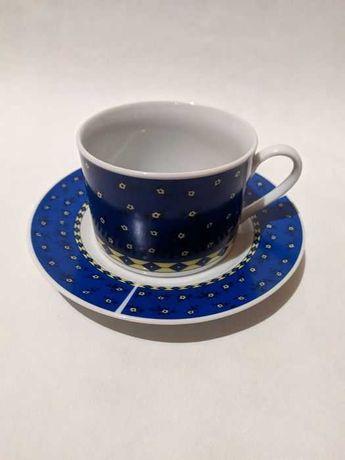 Чашка блюдце набор чайный сервиз чашки новые