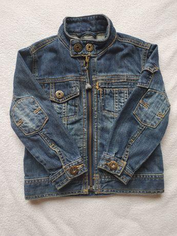 Джинсовая куртка, джинсовый пиджак.