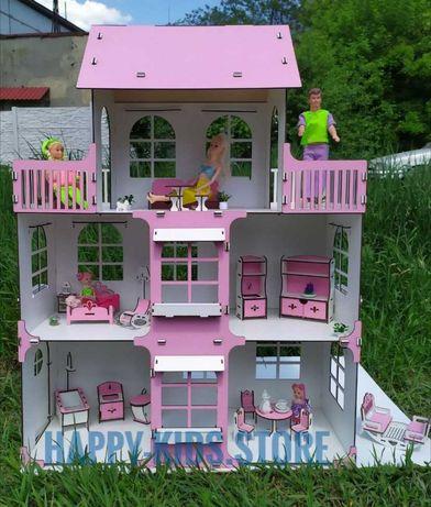Кукольный домик Барби, ЛОЛ с мебелью! Ляльковий будинок з меблями