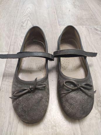 Туфли серые детские