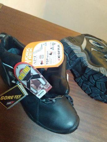 Botas Cofra com proteção de segurança não metálica novas
