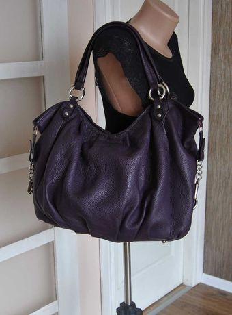Кожаная сумка мешок borse in pelle / шкіряна сумка