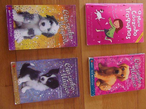 Lote Livros infantis;Alice Vieira,Marc Twain