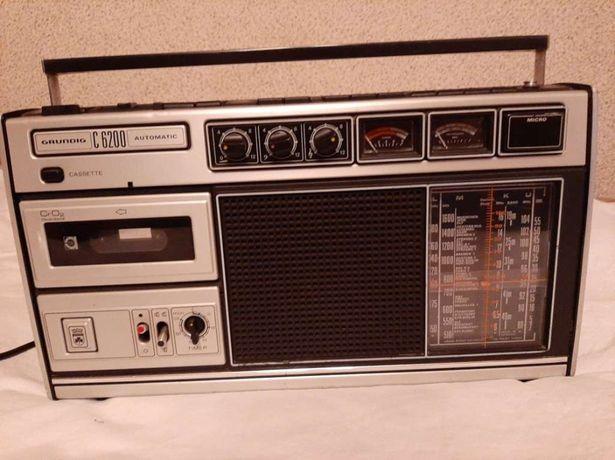 Radiomagnetofon grundig c 6200
