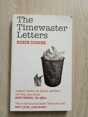 Robin Cooper - The Timewaster letters (in English)