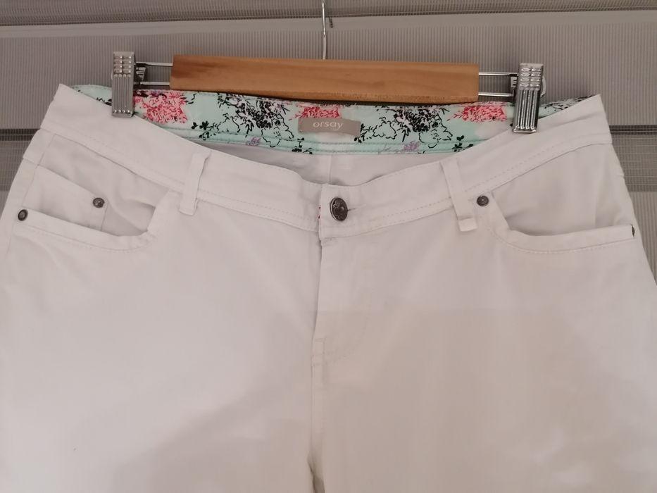 Białe spodnie dżinsy Orsay rozmiar 40 Białystok - image 1