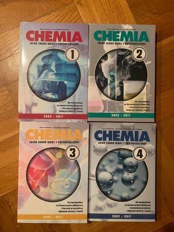 Zbiór zadań z chemii 1-4 Witowski Chemia matura do matury KOMPLET