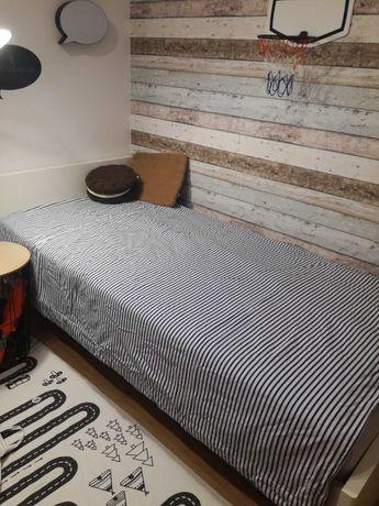 Narzuta na łóżko marynistyczna dwustronna pokój młodzieżowy dziecięcy