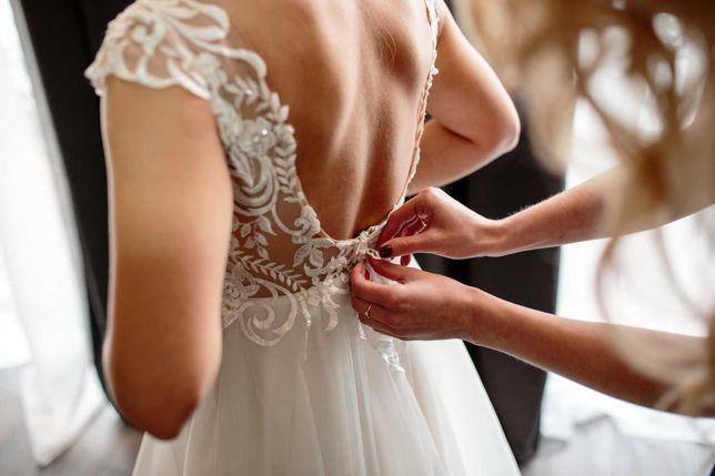 Piękna suknia ślubna Igar Collection