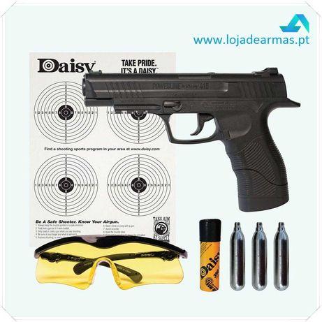 Pistola Daisy 415 KIT semi-automática - acção por CO2 - 12g