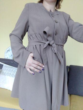 Płaszcz ciążowy wiosna/ jesien, rozmiar 42