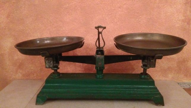 Balança 2 pratos (10 Kg)